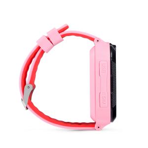 "Ceas smartwatch GPS copii MoreFIT™ GW2000 3G Pro, cu GPS si functie telefon, camera 2MP, WiFi, ecran touchscreen 1.54"", monitorizare spion si buton SOS, Roz + SIM prepay cadou [3]"