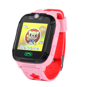"Ceas smartwatch GPS copii MoreFIT™ GW2000 3G Pro, cu GPS si functie telefon, camera 2MP, WiFi, ecran touchscreen 1.54"", monitorizare spion si buton SOS, Roz + SIM prepay cadou [2]"