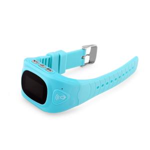 Ceas smartwatch GPS copii MoreFIT™ GW300, tripla pozitionare GPS+LBS+WiFi, telefon, buton SOS, monitorizare spion, design rezistent, Albastru + SIM prepay cadou [2]