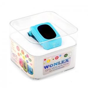 Ceas smartwatch GPS copii MoreFIT™ GW300, tripla pozitionare GPS+LBS+WiFi, telefon, buton SOS, monitorizare spion, design rezistent, Albastru + SIM prepay cadou [3]