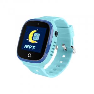 Ceas smartwatch GPS copii MoreFIT™ GW400x Pro , cu GPS si functie telefon, rezistent la apa, camera foto, buton SOS, Albastru + SIM prepay cadou0