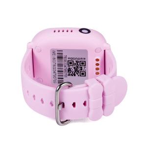 Ceas smartwatch GPS copii MoreFIT™ GW400x Pro , cu GPS si functie telefon, rezistent la apa, camera foto, buton SOS, roz + SIM prepay cadou [4]