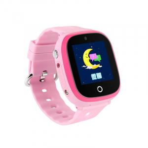 Ceas smartwatch GPS copii MoreFIT™ GW400x Pro , cu GPS si functie telefon, rezistent la apa, camera foto, buton SOS, roz + SIM prepay cadou [0]