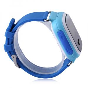 Ceas smartwatch GPS copii MoreFIT™ GW900s, cu GPS si functie telefon, monitorizare spion, pozitie GPS si LBS, buton SOS, Albastru + SIM prepay cadou2