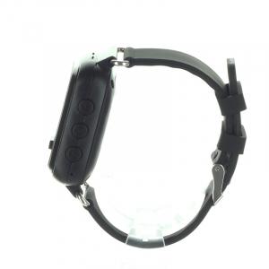 Ceas smartwatch GPS copii MoreFIT™ GW900s, cu GPS si functie telefon, monitorizare spion, pozitie GPS si LBS, buton SOS, Negru + SIM prepay cadou [2]