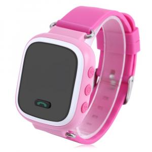 Ceas smartwatch GPS copii MoreFIT™ GW900s, cu GPS si functie telefon, monitorizare spion, pozitie GPS si LBS, buton SOS, Roz + SIM prepay cadou3