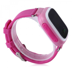 Ceas smartwatch GPS copii MoreFIT™ GW900s, cu GPS si functie telefon, monitorizare spion, pozitie GPS si LBS, buton SOS, Roz + SIM prepay cadou [4]