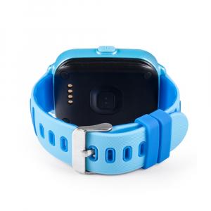 Ceas smartwatch GPS copii MoreFIT™ KT02 3G, cu GPS si functie telefon,Wi-Fi, monitorizare spion, functioneaza si pe DIGI, ecran touchscreen, buton SOS, Albastru [0]
