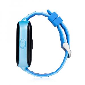 Ceas smartwatch GPS copii MoreFIT™ KT02 3G, cu GPS si functie telefon,Wi-Fi, monitorizare spion, functioneaza si pe DIGI, ecran touchscreen, buton SOS, Albastru [2]