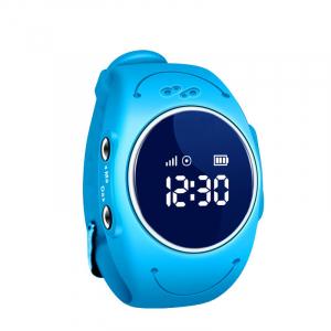 Ceas smartwatch GPS copii MoreFIT™ MX300s, functie telefon, monitorizare GPS in timp real, rezistent la apa IP67, Wi-FI, buton SOS si monitorizare spion, Albastru +SIM prepay cadou0