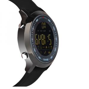 Ceas Smartwatch MoreFIT™ EX18 Plus, BT 4.0, autonomie baterie extra pana la 20 luni, sport , notificari apeluri, sms, negru2