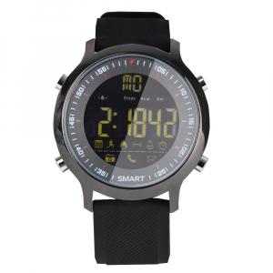 Ceas Smartwatch MoreFIT™ EX18 Plus, BT 4.0, autonomie baterie extra pana la 20 luni, sport , notificari apeluri, sms, negru1