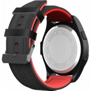 Ceas Smartwatch MoreFIT™ F3S Plus Sport, autonomie 12 luni, rezistent la apa ip67, Android/iOS, notificari apeluri, sms, barometru, altitudine, negru/rosu3