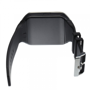 """Ceas Smartwatch MoreFIT™  Q18 Plus Pro, cu sim, display 1.54"""", camera foto, carcasa metalica, ecran curbat, NFC, BT 3.0, negru/negru [2]"""
