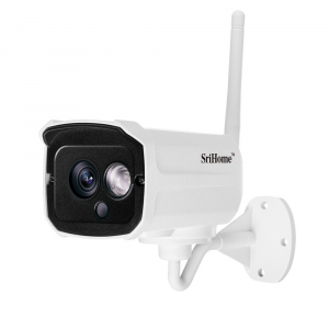 Kit supraveghere video Sricam™ NVS002 WI-FI, 2MP FullHD 1080p, rezistent la apa, hotspot, NVR, night vision2