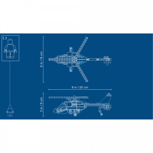 LEGO® Creator - Aventura cu elicopterul 31092 [5]