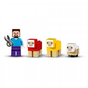 LEGO® Minecraft - Ferma de lana 211535