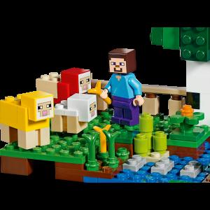 LEGO® Minecraft - Ferma de lana 211533