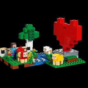 LEGO® Minecraft - Ferma de lana 211534