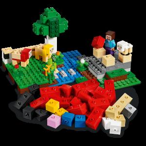 LEGO® Minecraft - Ferma de lana 211532