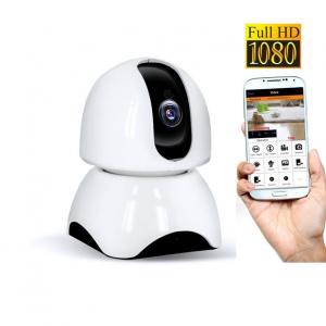 Set Baby Monitor Wireless BabyToy™ AR23 , Monitorizare Video Audio Bebelusi , Vedere Nocturna, Sunet Bidirectional, Functie Push To Talk, Rotire Automata, Full HD 2MP 1920*1080, Senzor Miscare, Alb + [4]