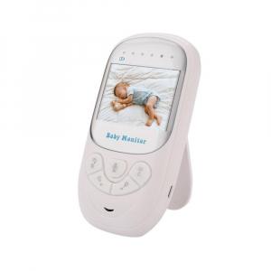Set Baby Monitor Wireless BabyToy™ BM108 , Monitorizare Video Audio Bebelusi , Monitorizare Temperatura , Vedere Nocturna Color, Audio-Video, Sunet bidirectional, Functie Push to Talk, Rotire 360 , Ca1