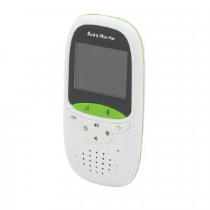 Set Baby Monitor Wireless BabyToy™ VB602 Plus , Monitorizare Video Audio Bebelusi , Monitorizare Temperatura , Vedere Nocturna, Audio-Video, Sunet bidirectional, Functie Push to Talk, 8 Cantece de lea2