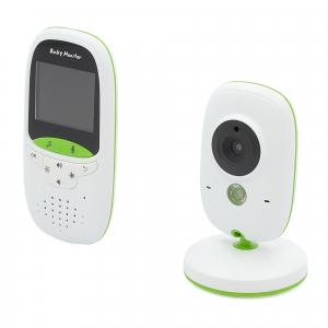 Set Baby Monitor Wireless BabyToy™ VB602 Plus , Monitorizare Video Audio Bebelusi , Monitorizare Temperatura , Vedere Nocturna, Audio-Video, Sunet bidirectional, Functie Push to Talk, 8 Cantece de lea3
