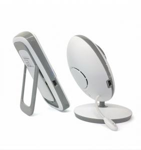Set Baby Monitor Wireless BabyToy™ VB605 Plus , Cu baterie , Monitorizare Video Audio Bebelusi , Monitorizare Temperatura , Vedere Nocturna, Audio-Video, Sunet bidirectional, Functie Push to Talk, 8 C4