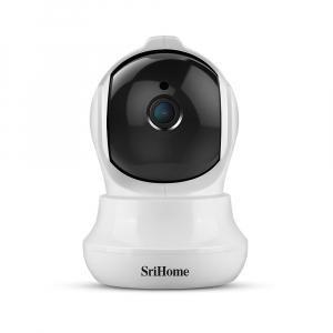 Set Baby Monitor Wireless Sricam™ SH020 Plus SriHome, FullHD 2MP, Monitorizare Video Audio Bebelusi , Auto Tracking, Vedere Nocturna, Audio-Video, Sunet bidirectional, Rotire automata, rezolutie 1920*1