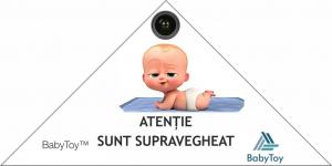Set Baby Monitor Wireless Sricam™ SH020 Plus SriHome, FullHD 2MP, Monitorizare Video Audio Bebelusi , Auto Tracking, Vedere Nocturna, Audio-Video, Sunet bidirectional, Rotire automata, rezolutie 1920*5