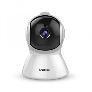 Set Baby Monitor Wireless Sricam™ SH025 Plus SriHome , FullHD 2MP, Monitorizare Video Audio Bebelusi , Auto Tracking, Vedere Nocturna, Audio-Video, Sunet bidirectional, Rotire automata, rezolutie 1920 [1]