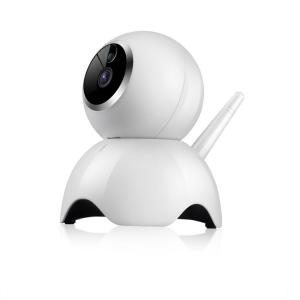"""Set Camera de supraveghere IP WIFI BabyToy™ AG19 , Conectare Telefon / PC, Night vision, Rotire automata, HD 1280*720, camera 1.0 MP, senzor miscare, alb + sticker """"obiectiv supravegheat video""""1"""
