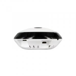 Set Camera de supraveghere IP WIFI BabyToy™ AR-P7 mini , Full HD 3MP, Night vision, Conectare telefon / PC , Vedere panoramica 360° 3D, Senzor miscare, Alarma, Comunicare audio bidirectionala, stocare [2]