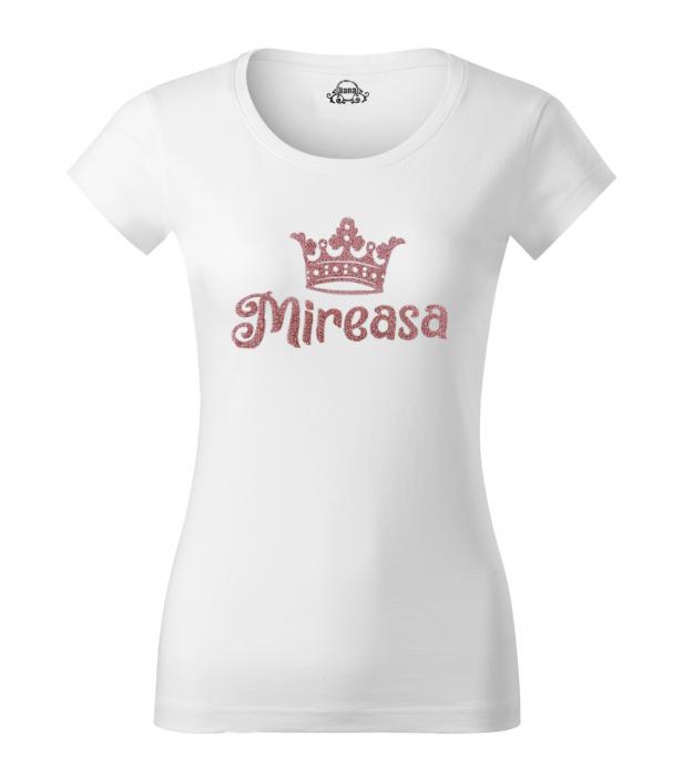 Tricou Mireasa, tricou din bumbac alb, personalizat [1]