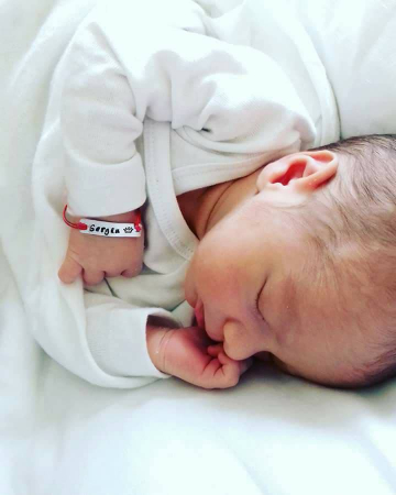 Bratara personalizata pentru copii si bebelusi, gravata cu nume, cu snur ajustabil [3]