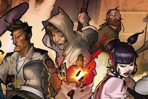 Zombicide is being turned into a roleplaying game by War of the Ring co-creators