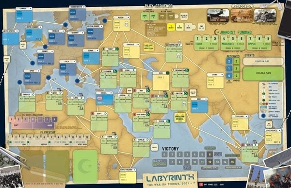 Labyrinth: The War on Terror, Imperial Struggle and COIN series prepare for battle on PC and mobile