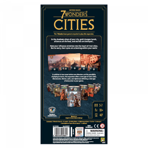 7 Wonders: Cities (Second English Edition) 1