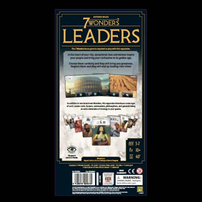 7 Wonders: Leaders (Second English Edition) 1
