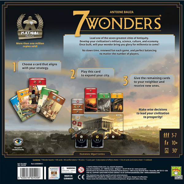 7 Wonders (Second English Edition) 1
