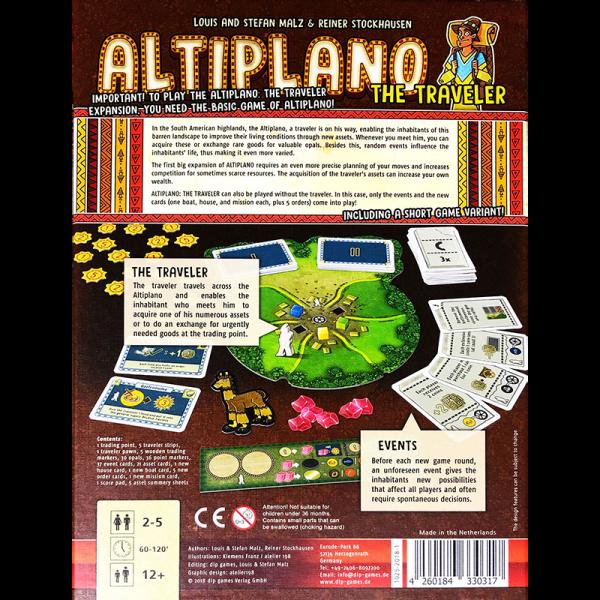 Altiplano: The Traveler 1