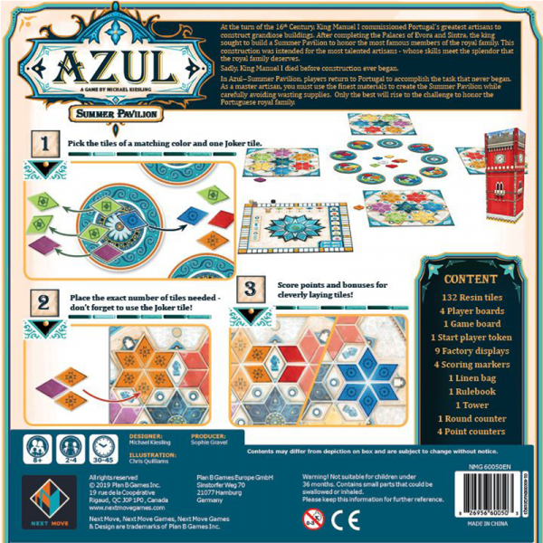 Azul: Summer Pavilion (English Edition) [1]