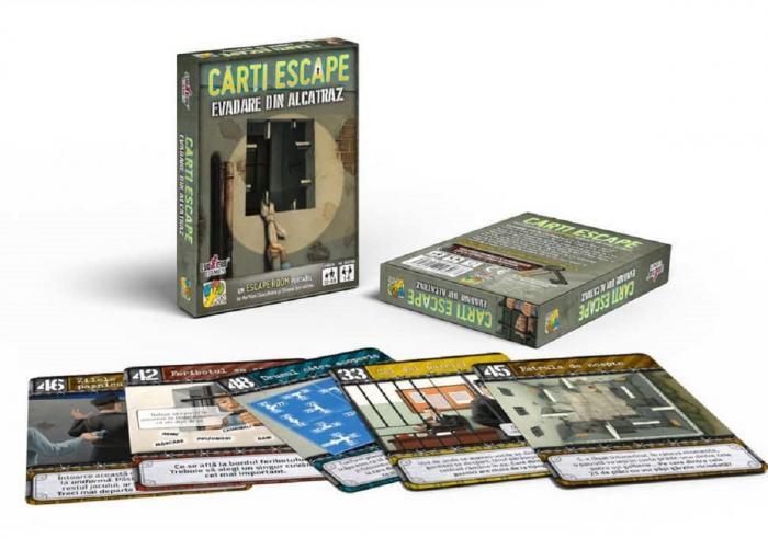 Cărți Escape - Evadare din Alcatraz 1