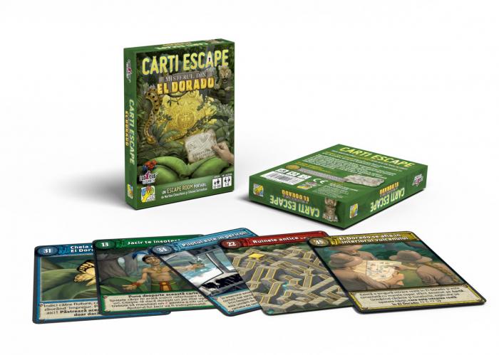 Cărți Escape - Misterul din Eldorado [1]