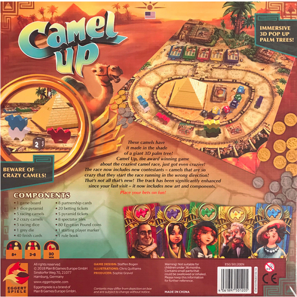 Camel Up (2nd edition) 1