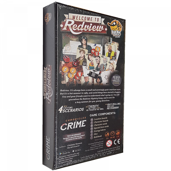 Chronicles of Crime: Welcome to Redview 1
