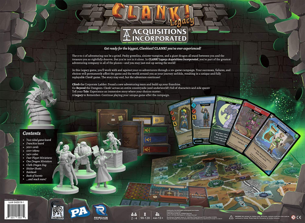 Clank! Legacy: Acquisitions Incorporated 1