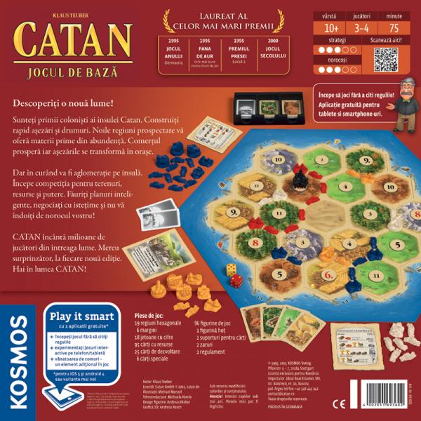 Colonistii din Catan (editia 2015) 1
