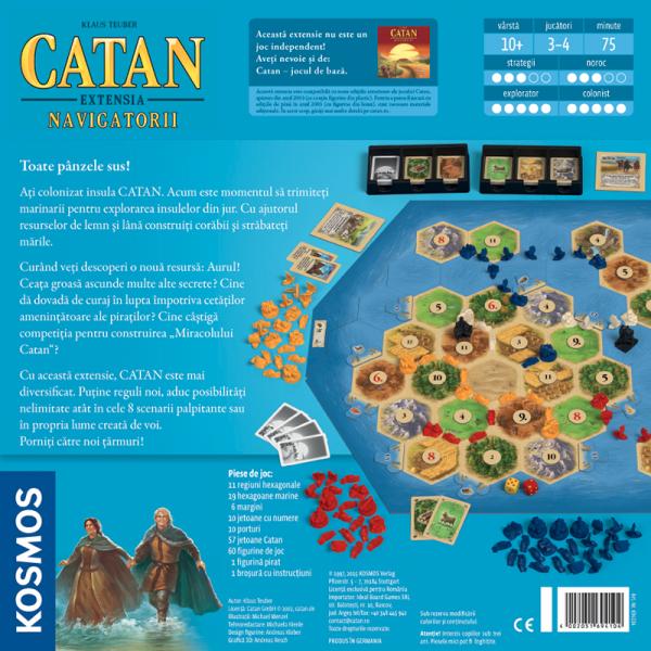 Colonistii din Catan - Navigatorii [1]